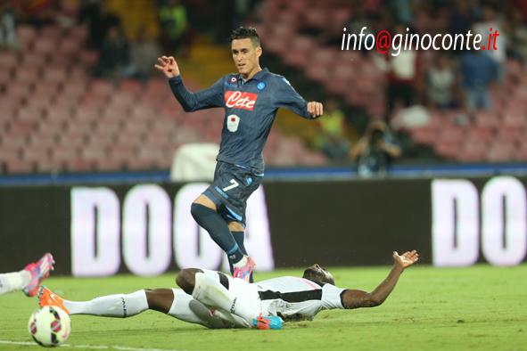 Napoli-Palermo - gol di Callejon 1