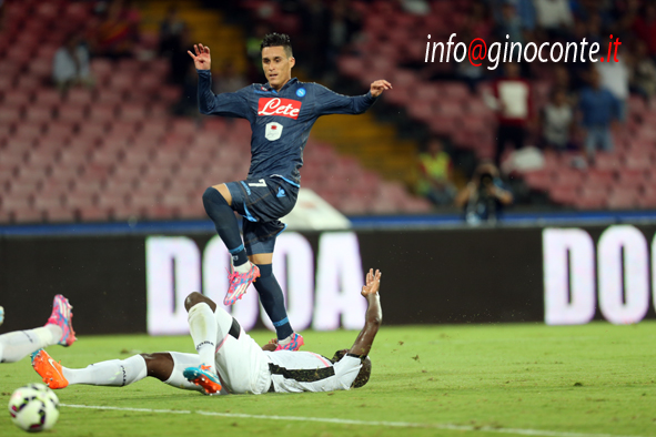 Napoli-Palermo - gol di Callejon