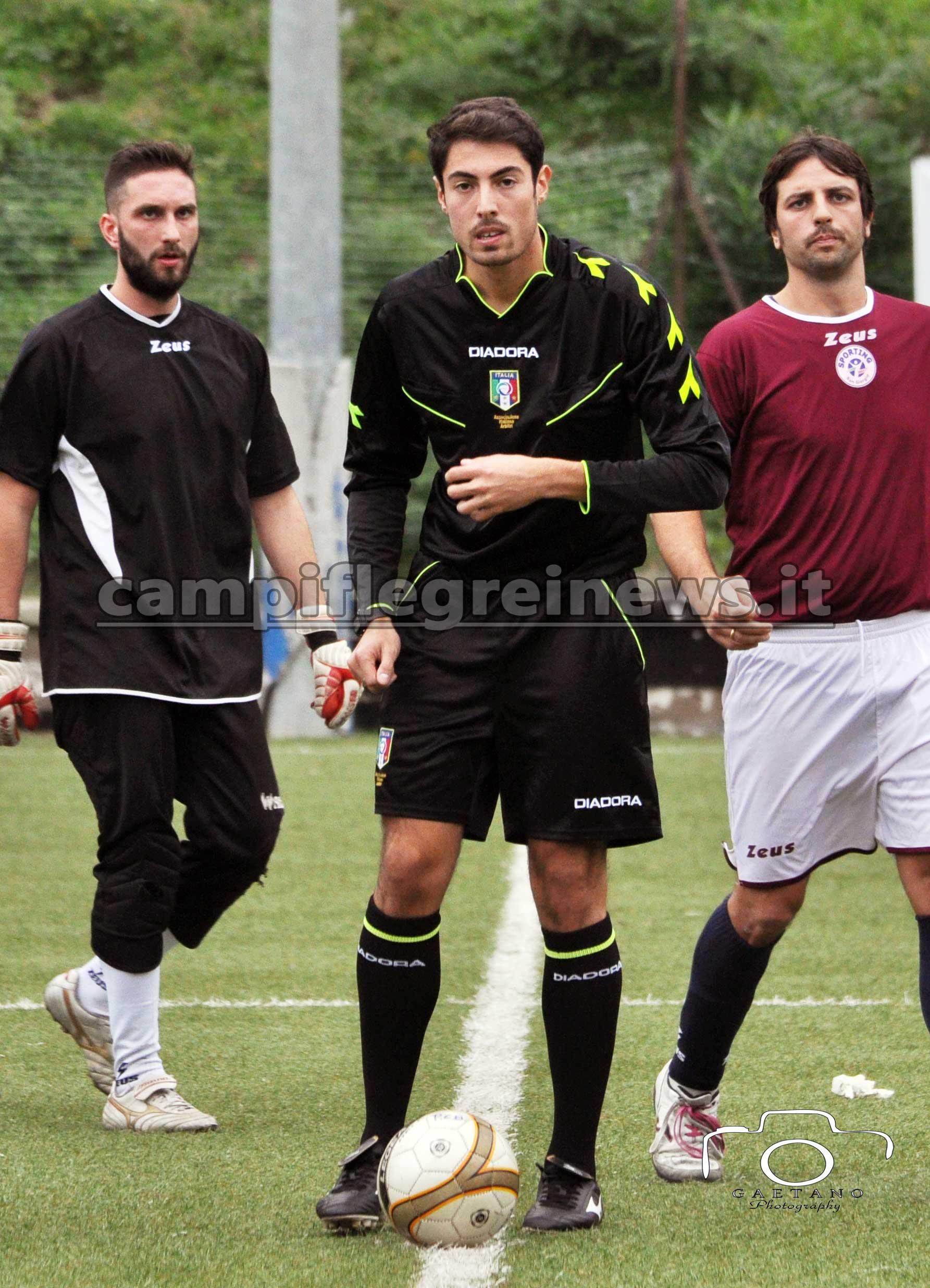 Pro Calcio Bacoli-San Giorgio - arbitro di Pozzuoli