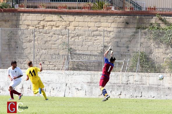 Puteolana 1902 - il gol del pareggio della Frattese