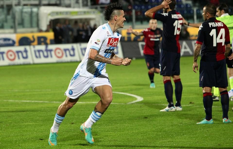 Il Napoli chiude il 2013 con un punto guadagnato