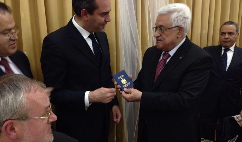 De Magistris cittadino onorario di Gerusalemme
