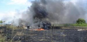 Terra dei fuochi 3 - incendio
