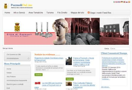 Pozzuoli, un nuovo sito internet al servizio del cittadino