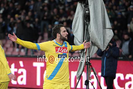 Napoli-Lazio,la photogallery della vittoria degli azzurri in Coppa Italia