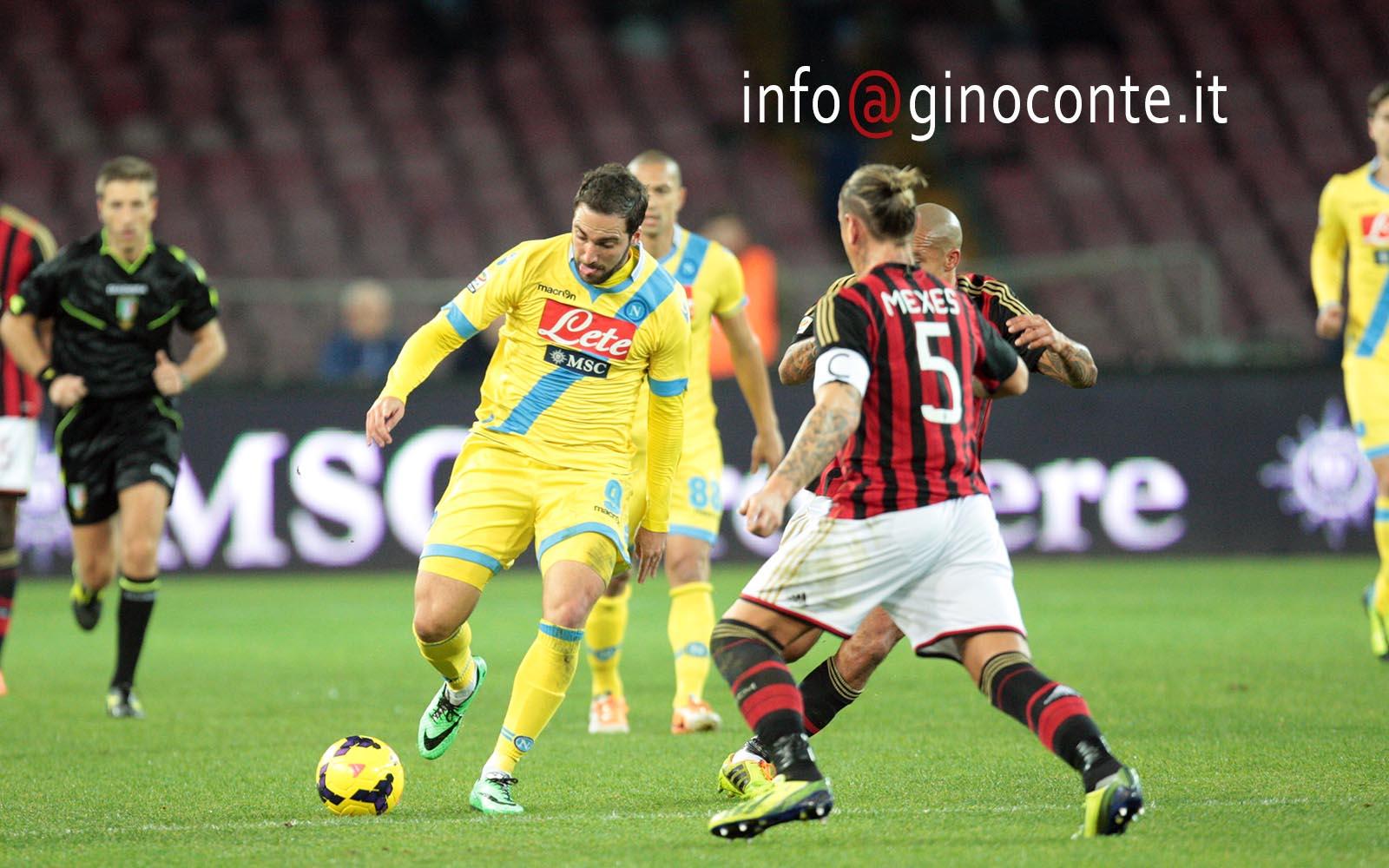 Dopo lo svantaggio il Napoli strapazza il Milan 3-1