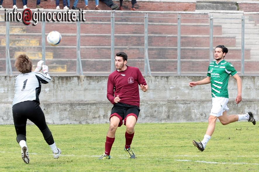 Un goal di Riccio regala il successo agli uomini di Gargiulo sul Procida