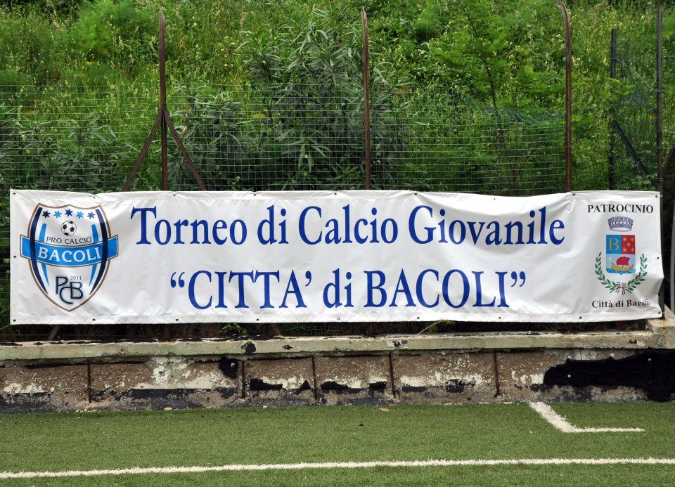 """Si gioca al Chiovato il """"Torneo di Calcio Città di Bacoli"""""""