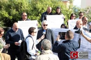 La protesta degli avvocati - l'avv.to Palmese illustra i motivi