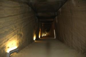 Interno della Grotta di Cocceio