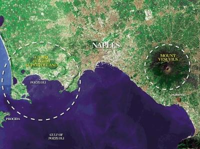 Campi Flegrei e Vesuvio, rischio ed emergenza: in arrivo un nuovo Piano