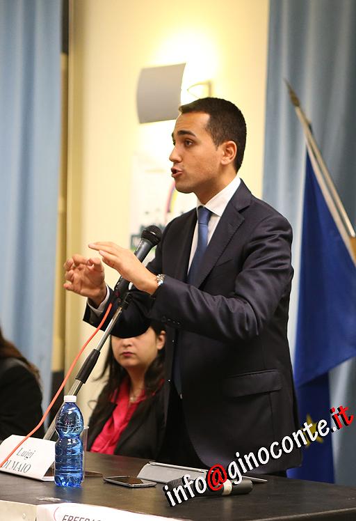 Luigi Di Maio vice presidente della Camera dei Deputati