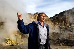 Giuseppe Mastrolorenzo ricercatore dell'Osservatorio Vesuviano