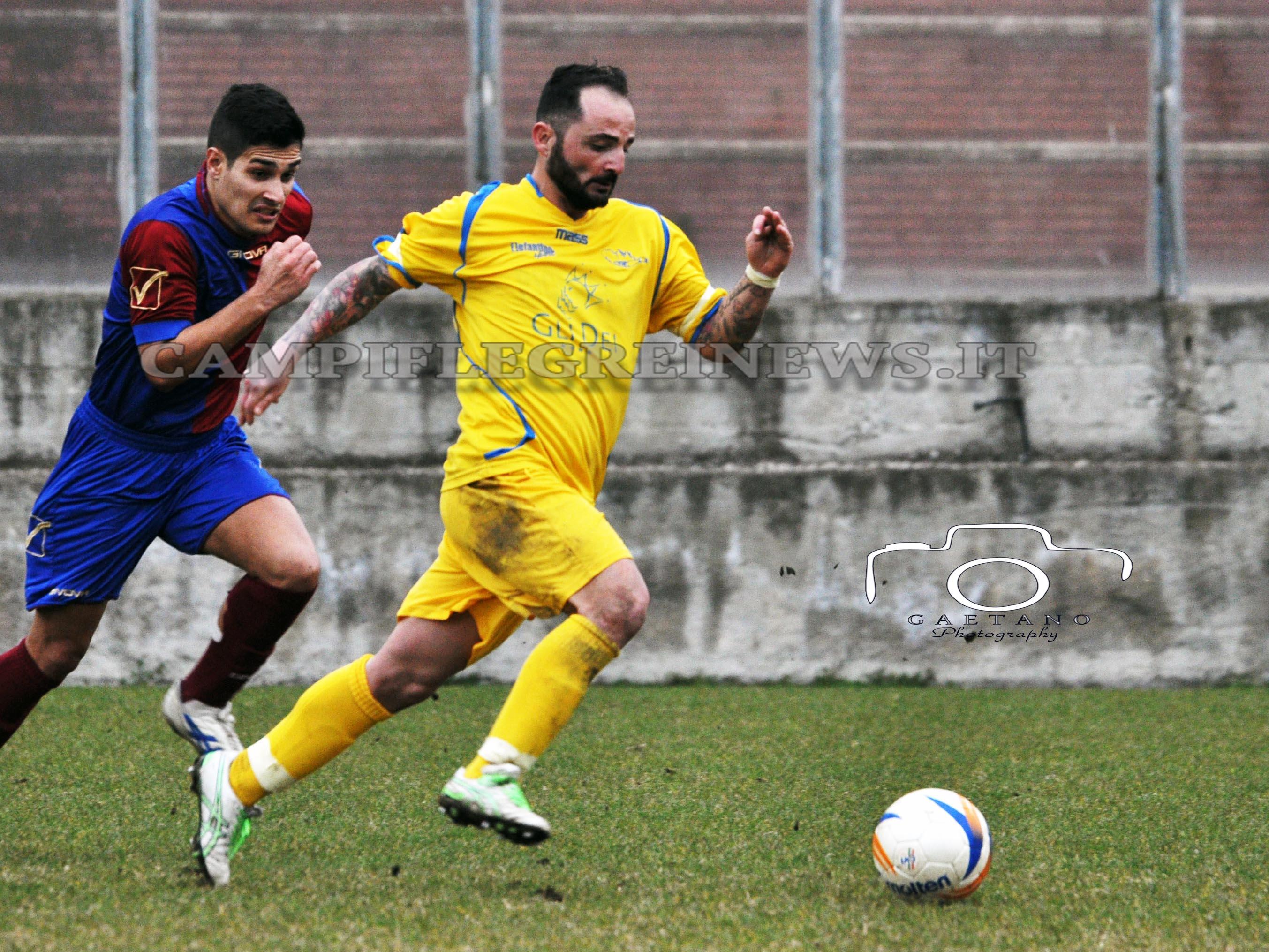 Real Puteoli, ingaggiato l'attaccante Salvatore Ginestra
