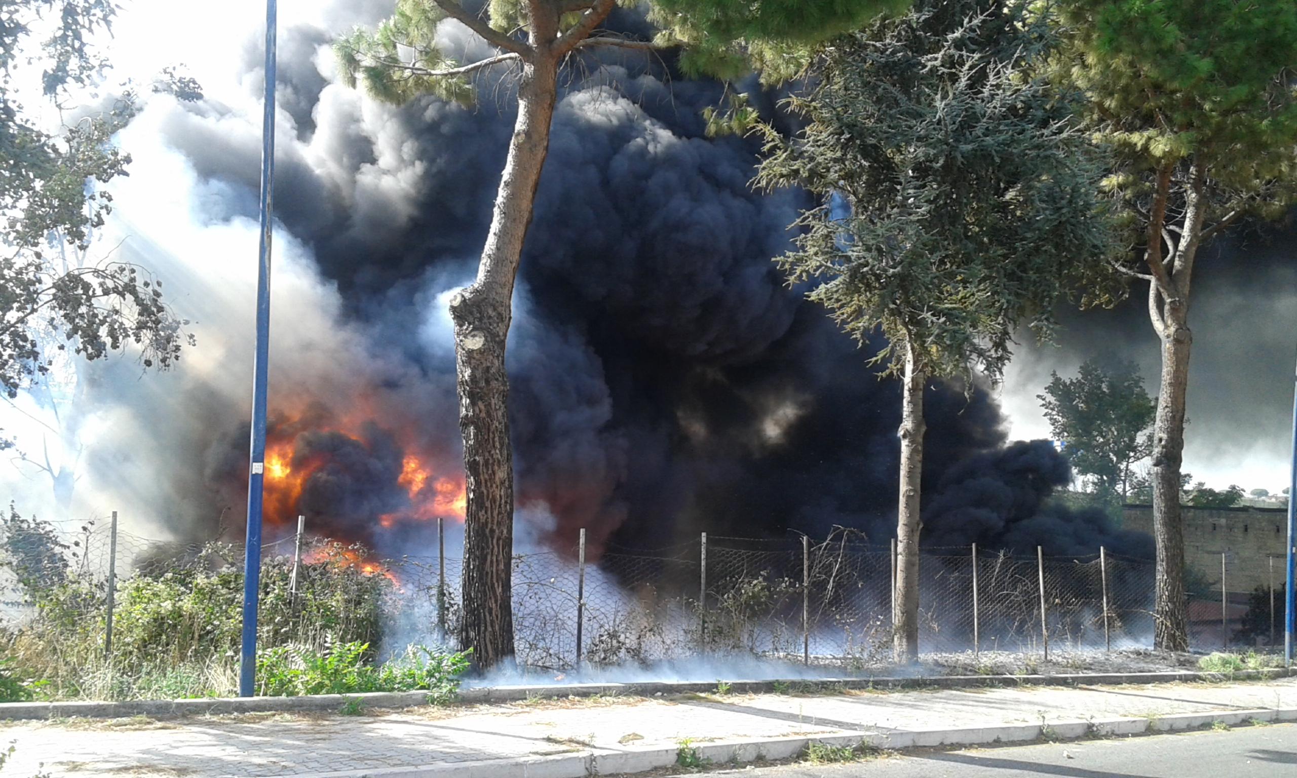 Disastro ambientale a Monteruscello
