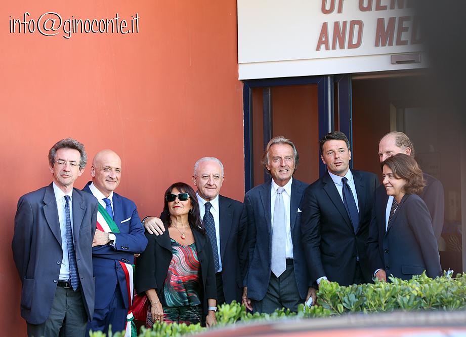 Renzi a Pozzuoli, 2miliardi e mezzo al Tigem