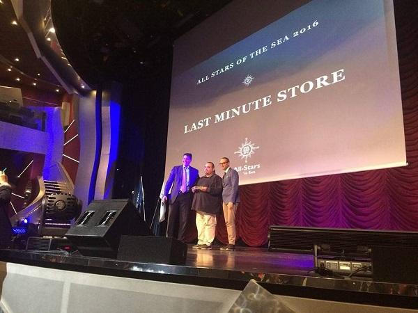 MSC Crociere premiano l'agenzia viaggi Last Minute Store