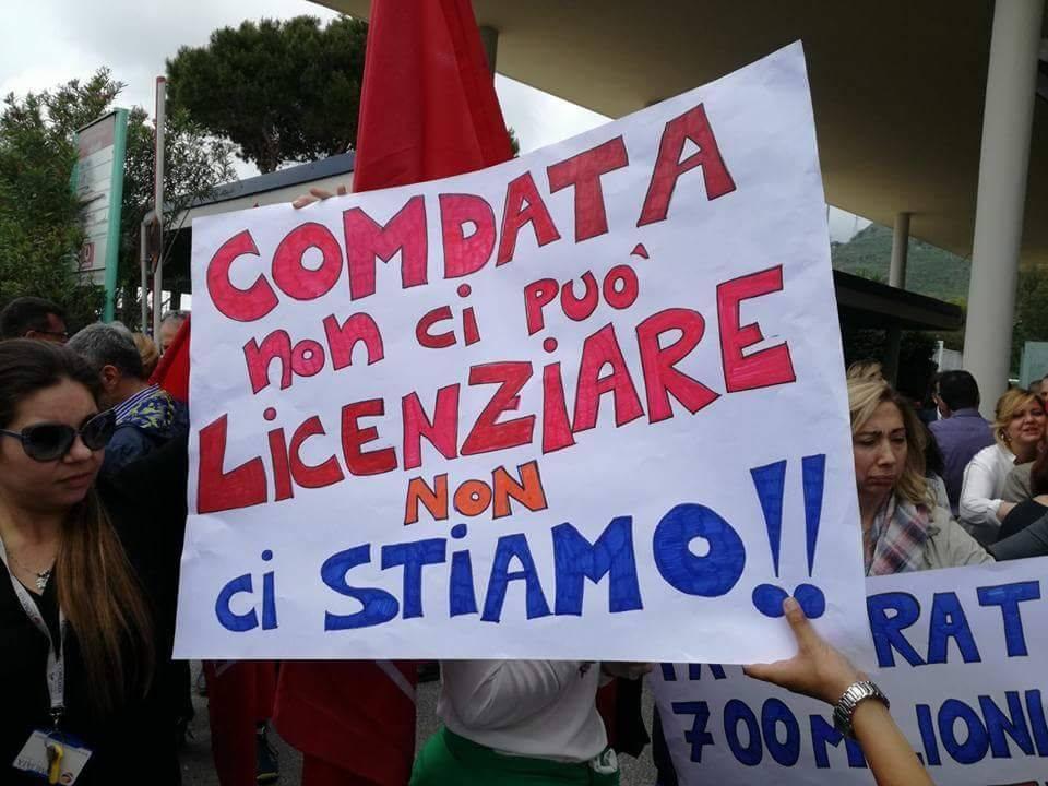 """Comdata, la Cgil: """"Ancora nessun piano di rilancio per la sede di Pozzuoli"""""""