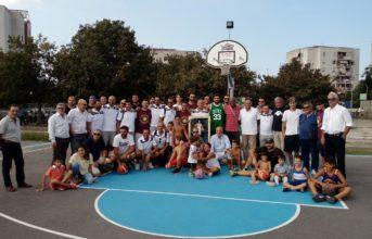 Monterusciello, la Virtus Pozzuoli e Middleton inaugurano il nuovo playground