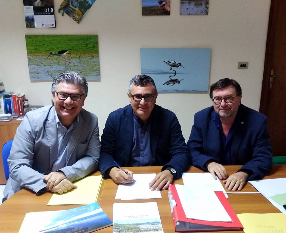 Costa di Licola, firmato l'accordo tra l'Ente riserve regionali e la Federico II°