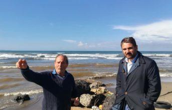 Disastro Alveo Camaldoli: sopralluogo di Micillo, sottosegretario del Ministero dell'Ambiente