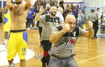 """Basket, Serpico: """"vincere aiuta a vincere"""". Ancora in forse il recupero con la Viola Reggio Calabria prevista per mercoledì 31"""