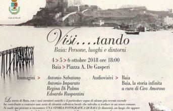 """""""Visi...tando"""", mostra dedicata alla storia di Baia in piazza De Gasperi"""