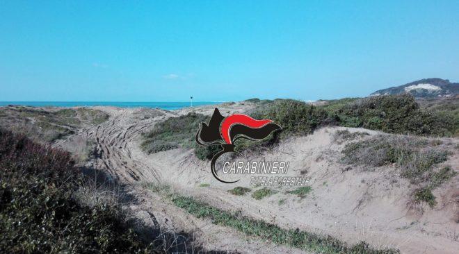 BACOLI/ Gare di motocross sulle dune della Foresta di Cuma: denunciate tre persone