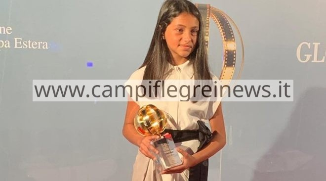 Consegnato a Ludovica Nasti il Globo d'oro come giovane promessa del cinema