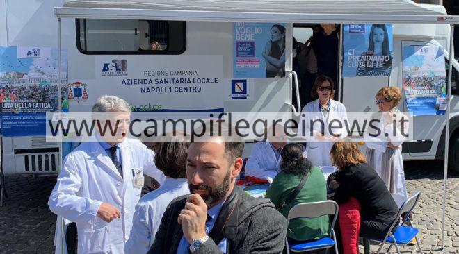 QUARTO/ Questa mattina in Villa Comunale screening gratuiti per la prevenzione ai tumori