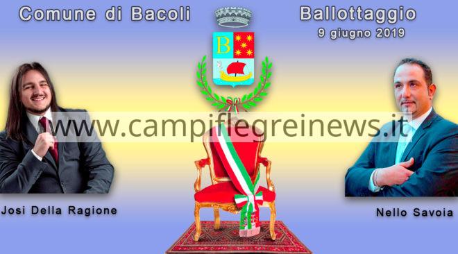 BACOLI, Ballottaggio in DIRETTA, clicca sul link