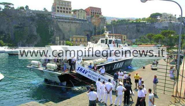Dal 1° luglio torna il Metrò del Mare: Pozzuoli e Bacoli più vicine a Costiera Sorrentina e Cilento