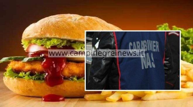 POZZUOLI/ Nas in un pub a via San Paolo: sequestrati 10 chili di alimenti senza tracciabilità