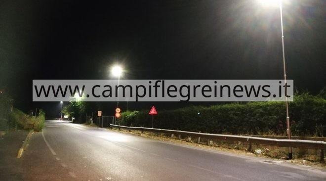 POZZUOLI/ A via Montenuovo Licola Patria arriva l'illuminazione pubblica
