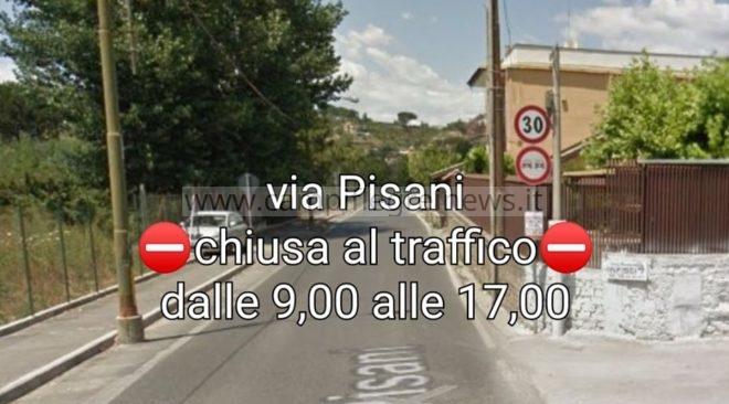 ULTIMORA/ Quarto, via Pisani chiusa al traffico dal 1° luglio al 2 agosto dalle ore 9 alle ore 17