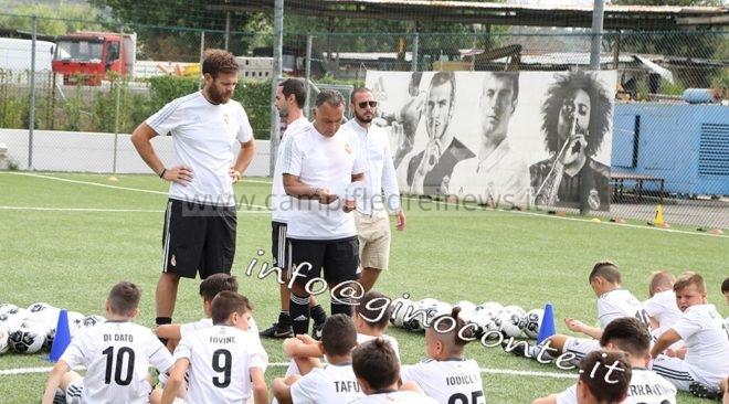 Il Real Madrid cerca giovani talenti a Pozzuoli|FOTO