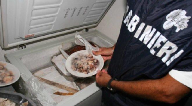 BACOLI/ Nas sequestrano 100 kg di alimenti ad un ristorante in via Dragonara