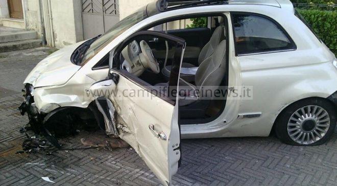 ULTIMORA/ Diretti in vacanza in Calabria 3 puteolani vittima di un pauroso incidente, auto distrutta