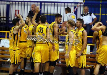 BASKET/ Virtus, tutto grinta e cuore: sconfitta Cassino al Pala Errico|FOTO