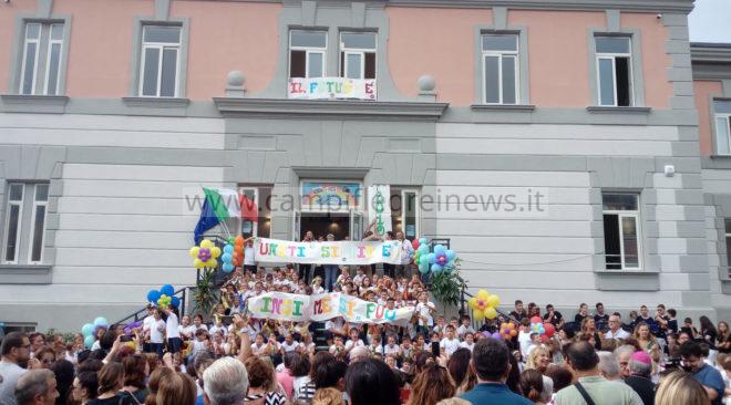 """ARCO FELICE/ Questa mattina l'inaugurazione della scuola """"Vittorio Emanuele"""" dopo il restyling"""