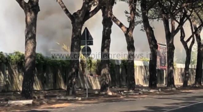 MONTERUSCIELLO/ Scattata la messa in sicurezza e la caratterizzazione del materiale combusto dopo gli incendi