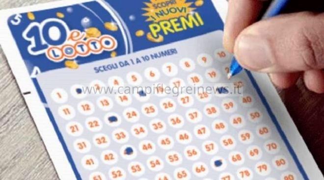La fortuna premia Monte di Procida, vinti 75mila euro col 10 e Lotto