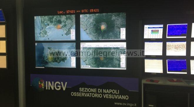 CAMPI FLEGREI/ Tre lievi scosse avvertite ieri sera dai residenti nella zona dei Pisciarelli