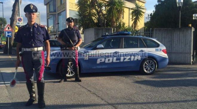 PIANURA/ Non si ferma all'alt e travolge agente di Polizia, denunciato un 18enne