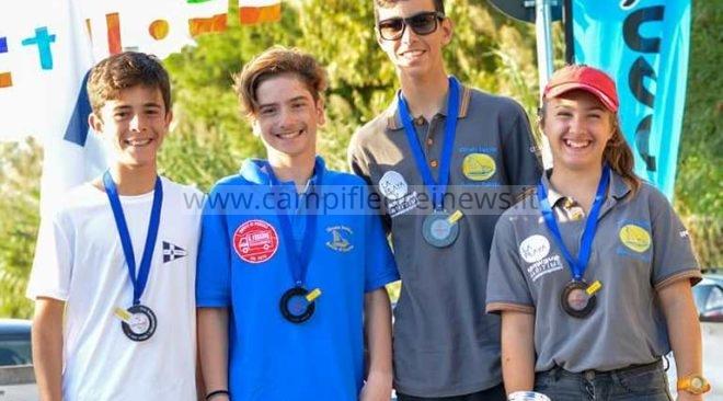 VELA/ I montesi De Felice, Tiano e Mancino qualificati per la Coppa Campioni di O'pen Bic - LE FOTO