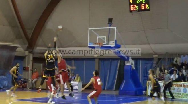 Basket, la Virtus Pozzuoli vince con un canestro di Picarelli a due secondi dalla fine
