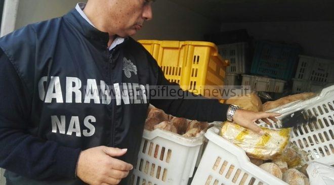POZZUOLI/ Sequestrati 2 quintali di pane in un forno abusivo tra Licola e Quarto