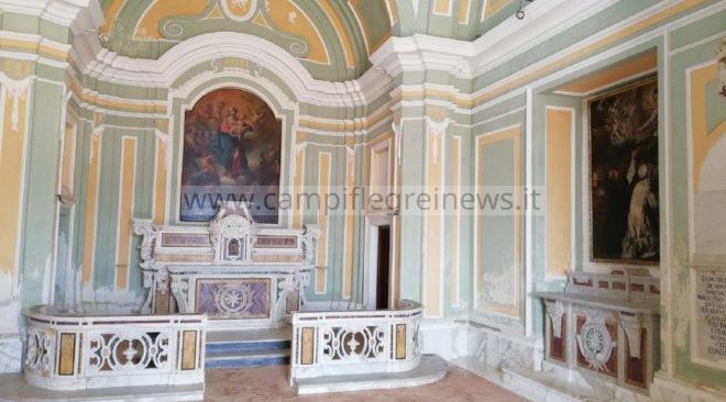 BACOLI/ Il 3 novembre riprendono le celebrazioni della Santa Messa nella chiesa del Castello di Baia