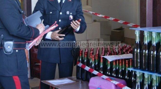QUARTO/ I Nas chiudono un deposito di una cantina vinicola per difformità della struttura e dei documenti