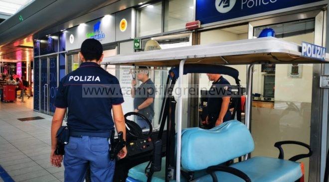 Ladro seriale di bagagli arrestato dalla Polfer nella stazione di Napoli Centrale
